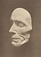 Посмертная маска Суворова. 1800 год.