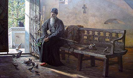 Царёво молчание. Картина Павла Рыженко